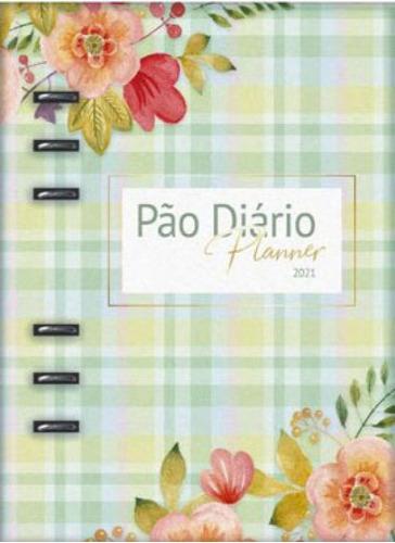 Imagem 1 de 1 de Pão Diário - Planner 2021 Verde