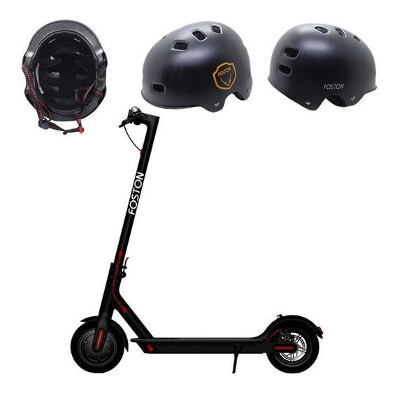 Monopatin Electrico Foston S08 Pro+casco+gancho Soporte