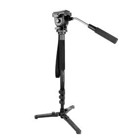 Kingjoy Aluminium Liga Câmera Monopé UniPod Com Fluido