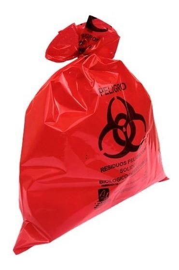 Bolsas Para Residuos Patológicos Ambiderm® 10 Piezas (rojo)
