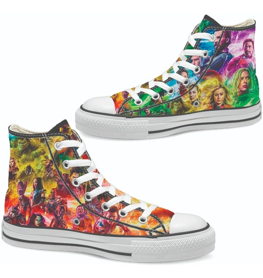 Tenis Avengers Endgame Tipo Converse