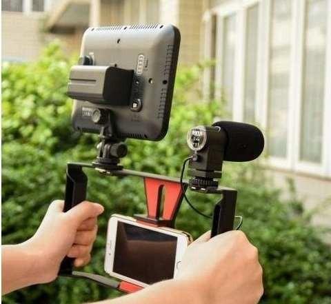 Imagen 1 de 3 de Base Celular Film,microfono Y Flash (base Solamente)
