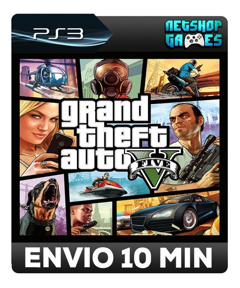 Grand Theft Auto 5 - Gta V - Português - Psn Ps3 - Envio Imediato