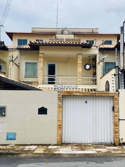 Casa Com 6 Dormitórios À Venda, 190 M² Por R$ 550.000,00 - Maraponga - Fortaleza/ce - Ca0998