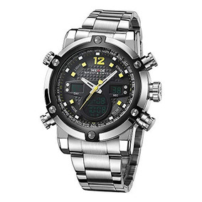 Reloj Weide Digital Watches For Men Water Resistant Quartz M