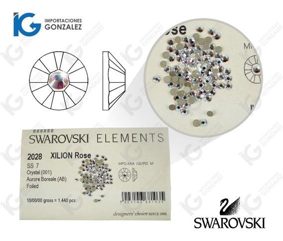 Piedra Cristal Swarovski 100% Original Tornasol Para Uñas Paquete Con 100 Piezas