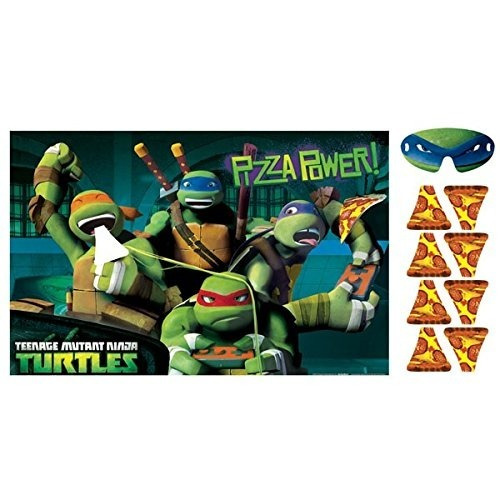 Party Game, Party Favor Pongale La Pizza A Tortugas Ninja !!