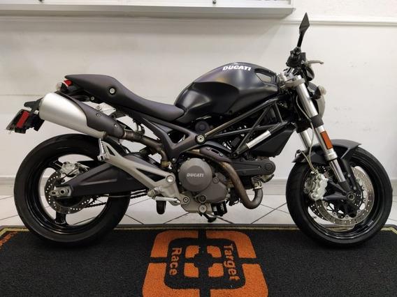 Ducati Monster 696 - Preta 2010 - Target Race