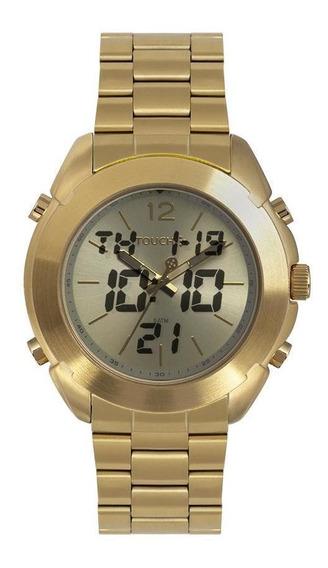 Relógio Touch Unissex Revele-se Dourado Tw2035lee/4d
