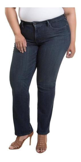 Calça Jeans Levis Feminina 314 Shaping Straight Azul Escuro