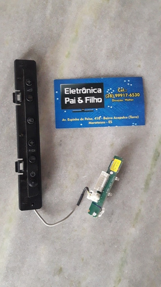 Placa Botões + Sensor Tv Philips 32pfl3805d/78