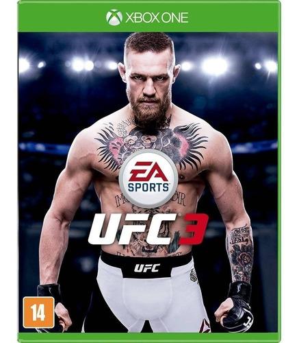 Jogo Ufc 3 (usado) Xbox One