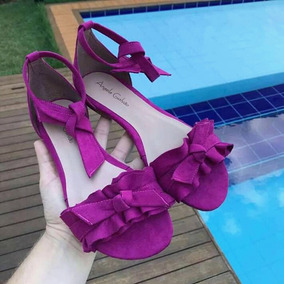 256690bbbf Sandália Angela Galvão - Sapatos no Mercado Livre Brasil