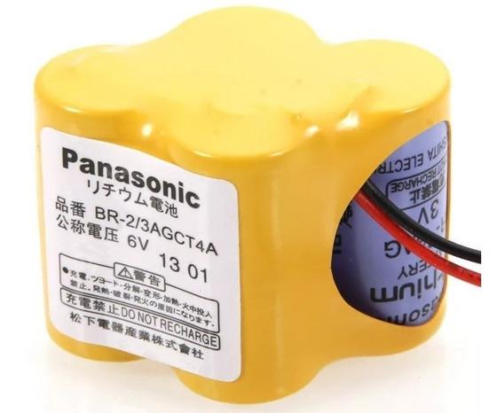 Lote 4 Baterias P/ Cnc Fanuc Br-2/3agct4a Panasonic Original