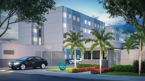 Imagem 1 de 30 de Apartamento  Com 2 Quartos À Venda, 42 M², Lazer, 1 Vaga, Financia - Maraponga - Fortaleza/ce - Ap1905