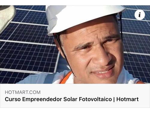 Imagem 1 de 4 de Curso Empreendedor Solar Fotovoltaico