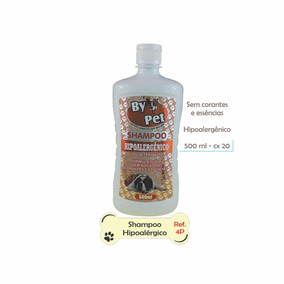 Shampoo Hipoalergico By Pet 500ml Cx Un10