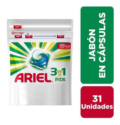Jabón En Cápsulas Ariel Pods - 31 Unidades
