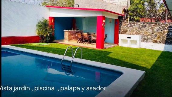 Hermosa Casa Con Alberca Climatizada!
