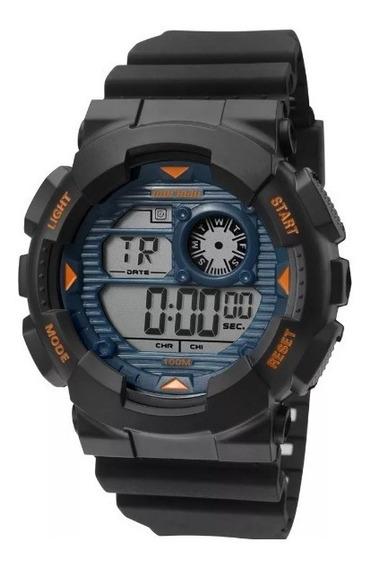 Relógio Masculino Pulseira De Borracha Mormaii Mo3415a/8a