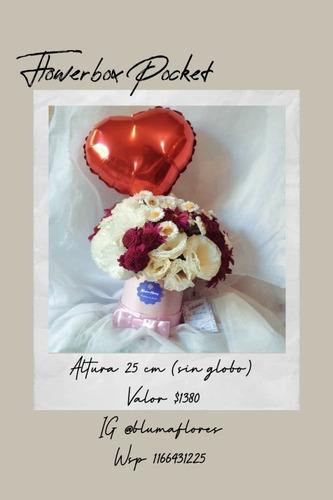 Flores, Globos, Chocolates