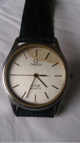 Relógio Omega De Ville Quartz Funcionando Perfeitamente