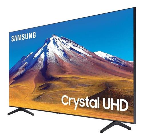 Imagen 1 de 9 de Tv Samsung De 55 Pulgadas Smart Tv Crystal Uhd + Regalos