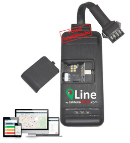 Mini Rastreador Veicular Line 4g Rastreia Por Celular Pc
