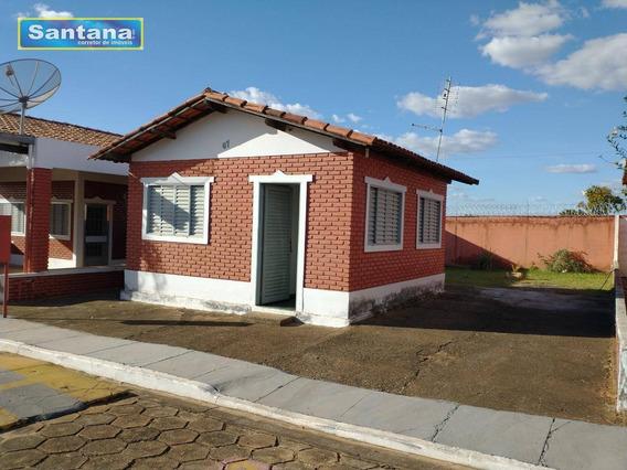 Chale Com 1 Dormitório À Venda, 25 M² Por R$ 55.000 - Terreno 175m² Mansões Das Águas Quentes - Caldas Novas/go - Ca0200