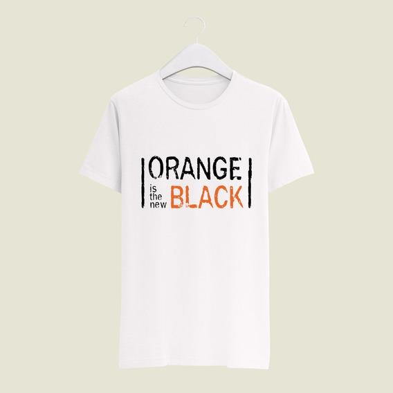 Playera Yasbek Sublimada Netflix Otnb Serie Orange New Black