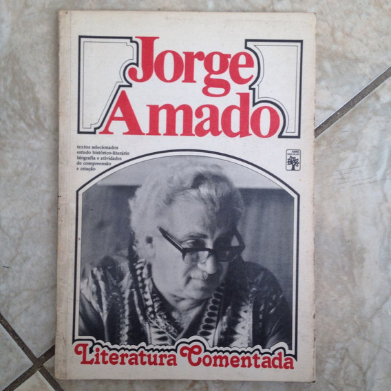 Livro Jorge Amado - Literatura Comentada - Ano De 1981