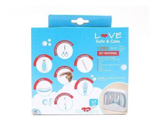 Set De Cuidados Love Bebes Seguridad Kit Botiquin Piezas