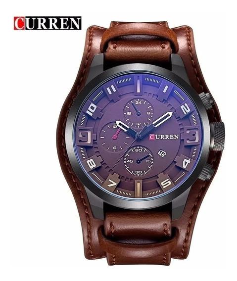 Relógio Masculino Curren 8225 + Caixa