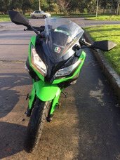 Moto Kawasaki Ninja 300 Edición Limitada