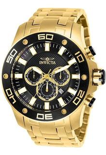 Reloj Invicta Cronógrafo Negro Dial Mens