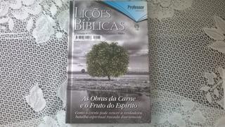 Revista Lições Bíblicas Capa Dura 1 Trimestre De 2017