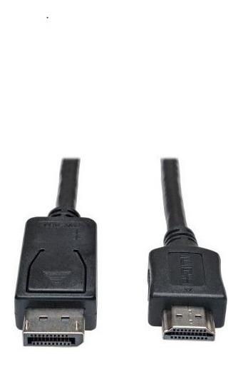 Tripplite Cable Displayport Macho-hdmi Macho 3.05 Mts Negro