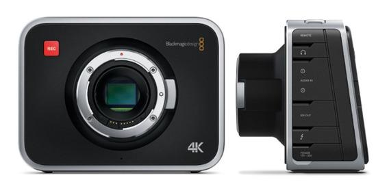 Filmadora Blackmagic Design Production Camera 4k - Completa