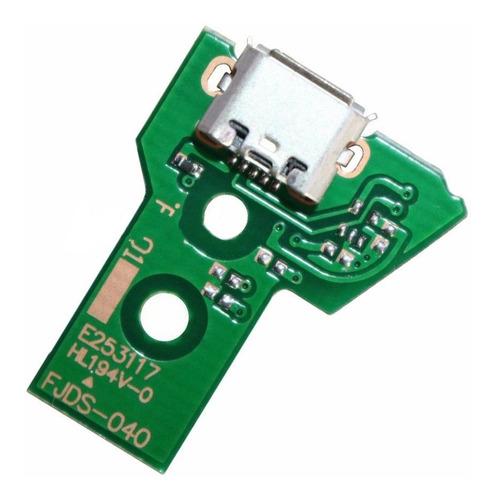 Placa Carga Pin Joystick Ps4 Jds 040 + Flex Sin Cargo