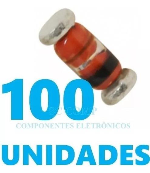 Diodo 1n4148 Smd Minimelf Kit 100pçs