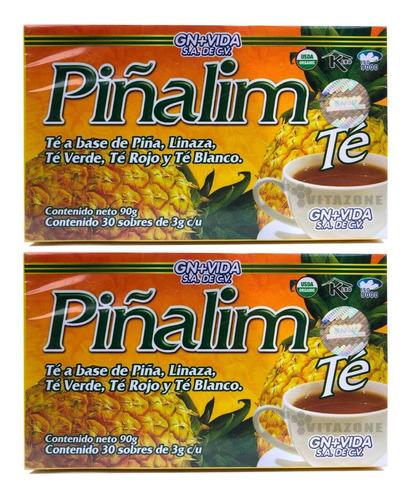 Imagen 1 de 5 de Piñalim 30 Sobres Gn+v (2 Cajas)
