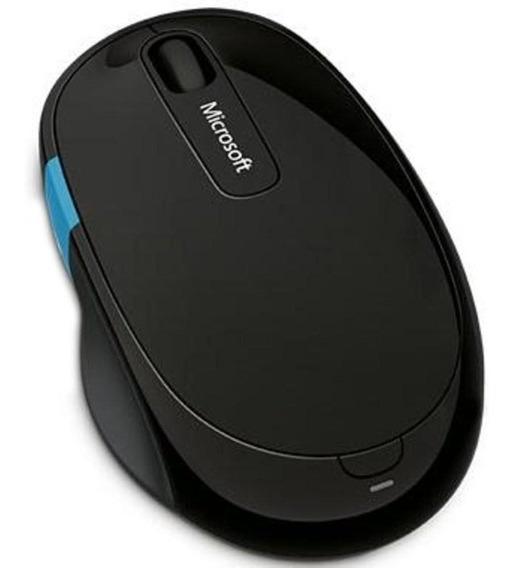 Mouse Microsoft Sculpt Comfort Sem Fio Preto H3s00009