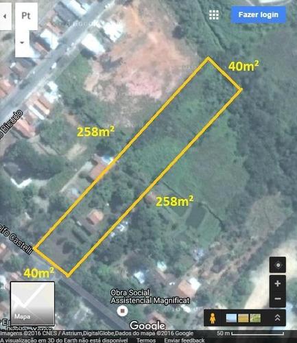 Imagem 1 de 4 de Área À Venda, 10143 M² Por R$ 4.057.200,00 - Putim - São José Dos Campos/sp - Ar0007