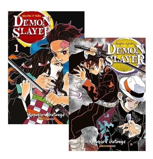 Mangá Demon Slayer: Kimetsu No Yaiba - 2 Em 1