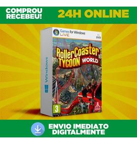 Rollercoaster Tycoon World - Pc - Português Envio 0 Segundo