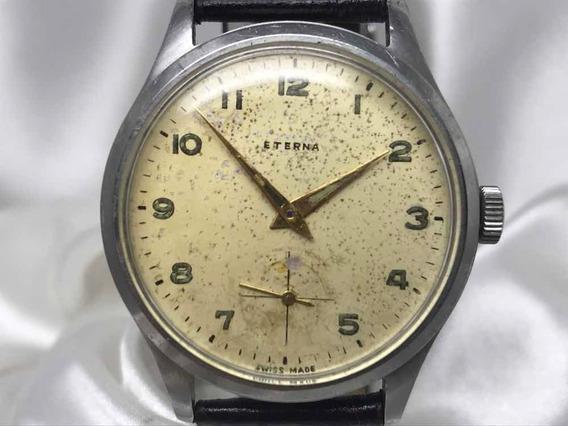 Relógio Eterna Militar 852 Staybrite 36,5mm Relogiodovovô.
