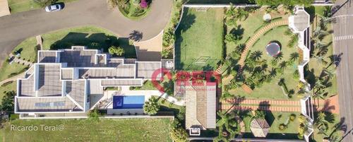 Imagem 1 de 30 de Espetacular Casa No Condomínio Parque Ytu Xapada - Ca0559