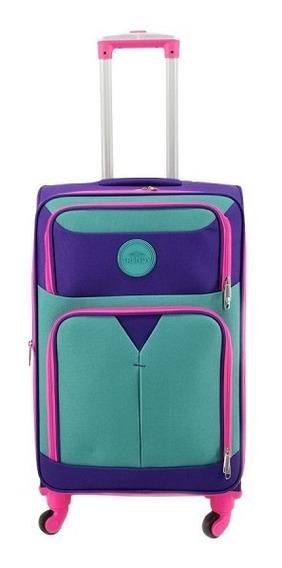 Valija Trendy Carry On Cabina N3 Violeta Oferta 26263