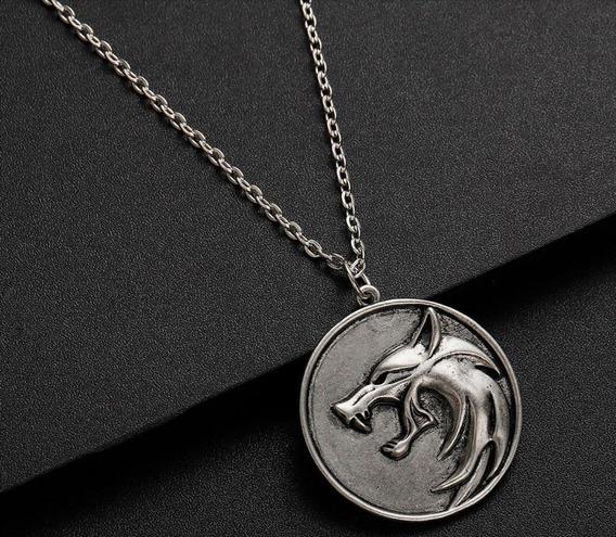 Medalhão Colar The Witcher - Geralt De Rívia