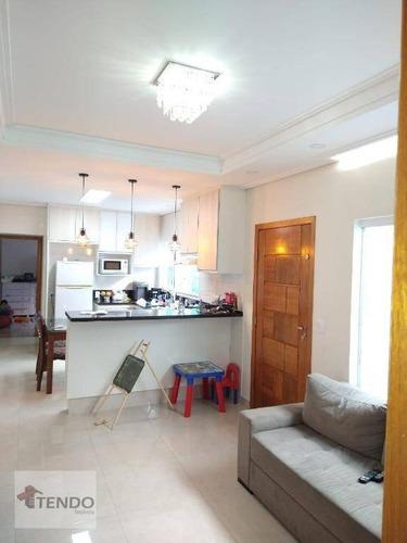 Imagem 1 de 16 de Imob01 - Casa 100 M² - Venda - 2 Dormitórios - Centro - São Bernardo Do Campo/sp - Ca0293